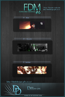 Ganadores 6 FDM by darkdesign-gfx