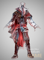 Ezio costume design by ienjoisushi