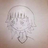 Crona Sketch by galaxyswords