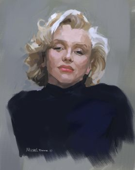 marilyn warm-up sketch by HaitisWorst