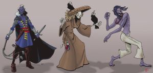 Undead characters by Pachycrocuta