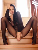 catsuit in the staircase by MarcBergmann