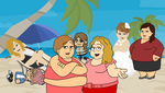 Fatties on GoAnimate I am so grounded by Maxtaro