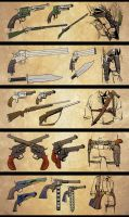 Gun Designs by ACZamudio