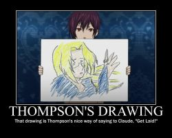 Thompson's Drawing by AloisPhantomhive