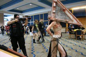 Female Pyramid Head by Phantomheero