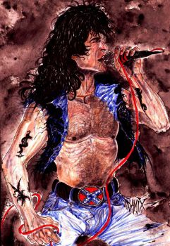Bon Scott acdc by DAMIX by DAMIX-ART