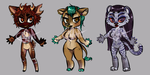 $5 Adopts 11-8 OPEN by AshenAdoptables
