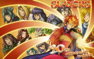Slayers 20th Anniversary by Tenaga