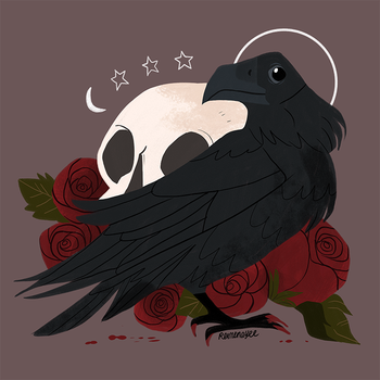 Familiar: Raven by reimena