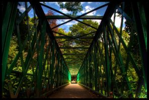 Criss Cross Bridge by Megglles