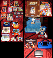 Sonic Collection .:Update 9:. by VeggieMadness
