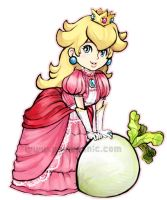 -Princess Peach- by kichisu