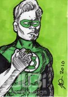 Conan O'Brien Green Lantern by J-Dubi