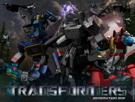 Generation One: Decepticons by elgoodo7