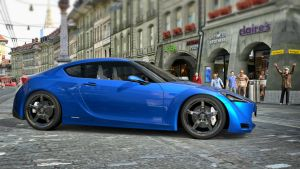 Toyota FT-86 Concept '09 by LS-Coloringlife