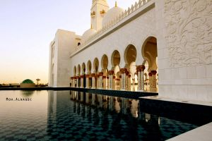 Sheikh Zayed Mosque 2 by aLwHm