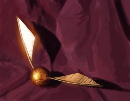 Quick Study Golden Snitch by JakeKalbhenn