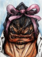Krogan Christmas by XantheUnwinArt