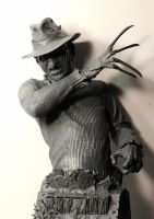 Freddy Krueger bust by LocascioDesigns