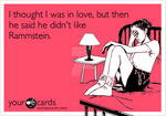 I thought I was in love, but... Rammstein version by MaliceDesire
