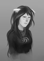 Jade Harley Is Sad For Reasons by aphaire