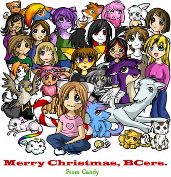 Merry Christmas BCers by midnightgem