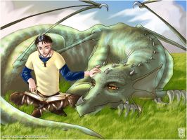 The Dragon Whisperer by ZoeyHuerta