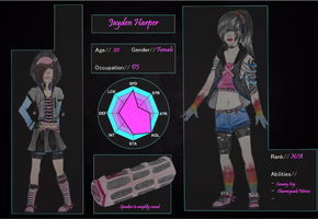 Unkn0wn Application: Jayden Harper by GodsGuardianAngel2