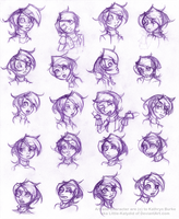 Yakira: Expression Revamp Part 1 by Little-Katydid