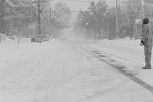 2015 January Blizzard,Snow Football Play and Dive5 by Miss-Tbones