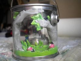 Totoro terrarium- back by vampire-wolf-girl