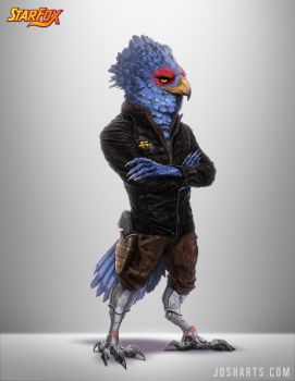 FALCO LOMBARDI RE-DESIGN by Dogsfather