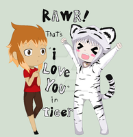 SlyTora-Rawr! by ShinanaEvangelian