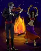Gypsy Dance by depplosion