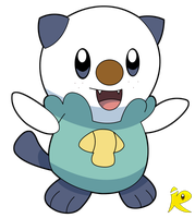 Oshawott Second Attempt by riodile