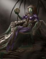 Queen of Blades_1 by Phil-Sanchez
