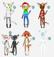 Name Your Price Cat Boy Adopts by WolvesDestinyBlood