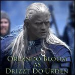 Orlando As Drizzt by WXZ-Angel