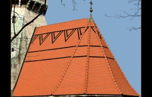 Roof Of St. Joseph Church - Cracow by skarzynscy