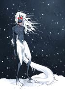 so cold much snow very Wendigo by Inonibird