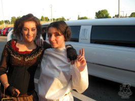 Lovett, Leia and the Limo by MiracoliCosplay