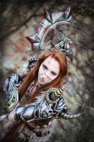 Female Barbarian Cosplay Diablo 3 by emilyrosa