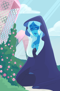 In Mourning (Blue Diamond) by Decapitated-Kittens