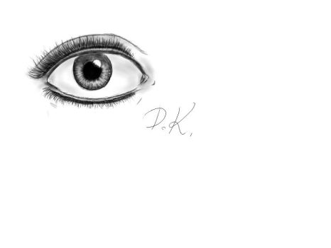 My first realistic eye by Marco1994