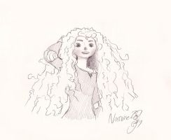 Brave Merida by TenggerCavalry