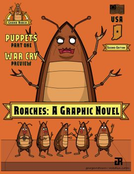 Roaches Second Edition by Gargantuan-Media