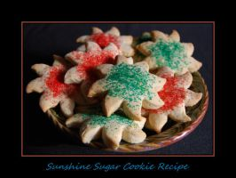 Sunshine Sugar Cookie Recipe.. by LadyAliceofOz