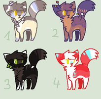More Adopts [CLOSED] by oOMintAdoptablesOo