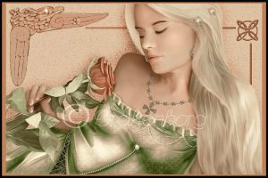 Celtic rose by Drakenborg